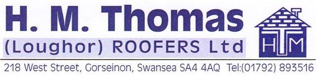 Slate roof repairs in Swansea by H M Thomas (Loughor) Roofers Ltd